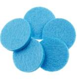 geurschijf aroma medaillon lichtblauw 1 stuk