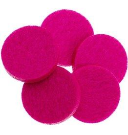 geurschijf aroma medaillon fuchsia roze
