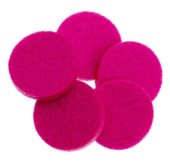 geurschijf aroma medaillon fuchsia roze 1 stuk