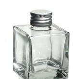 glazen flacon sissi vierkant 100 ml