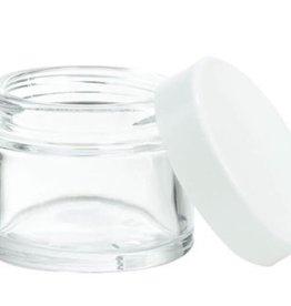 glazen pot 100 ml.