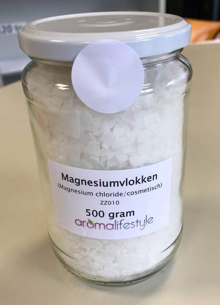 Magnesium vlokken ( magnesiumchloride) 500 gr.
