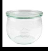 Weckglas tulpmodel 580 ml. 6 stuks