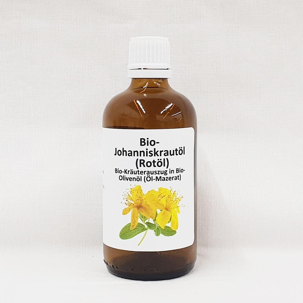 Sint Janskruid (Johanniskraut) olie 100 ml. bio
