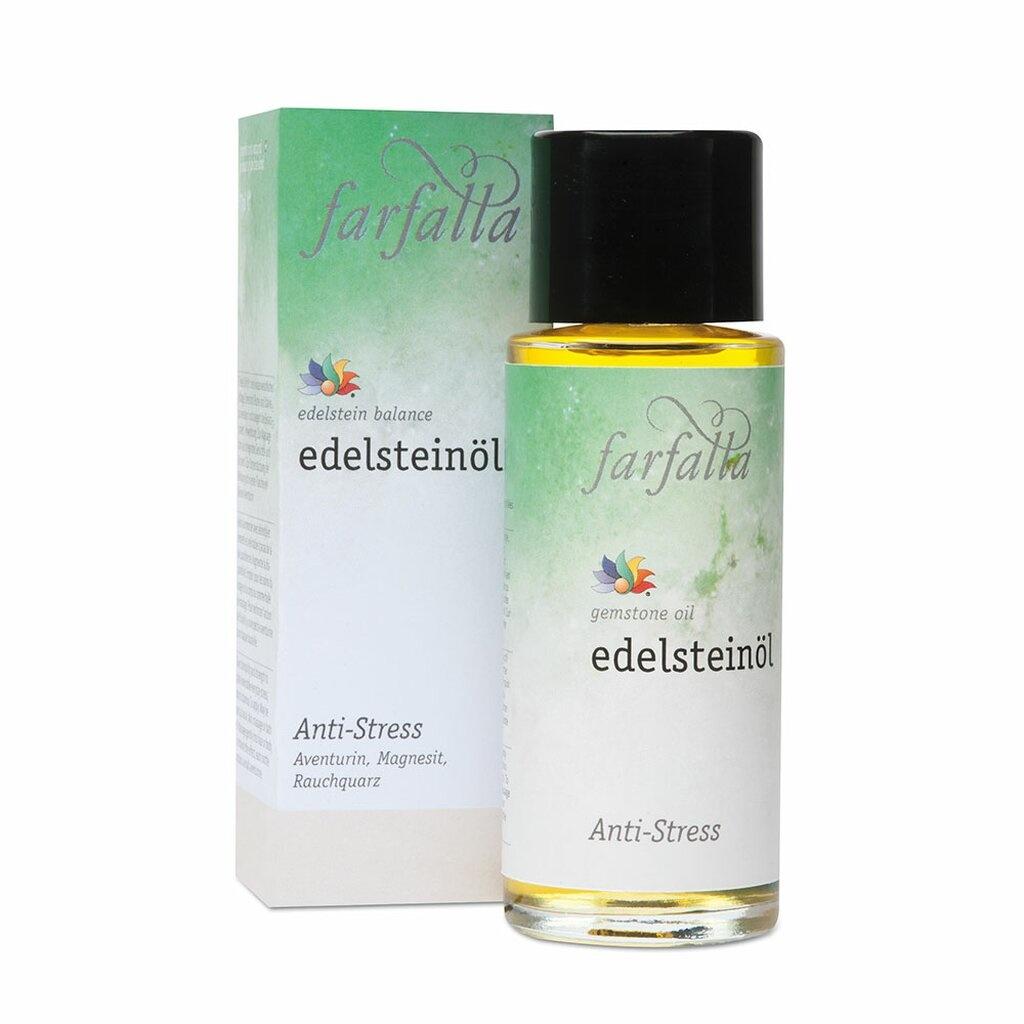 Farfalla Edelsteenolie Anti Stress - 80 ml.