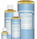 Dr.Bronner's vloeibare zeep babymild 240 ml.