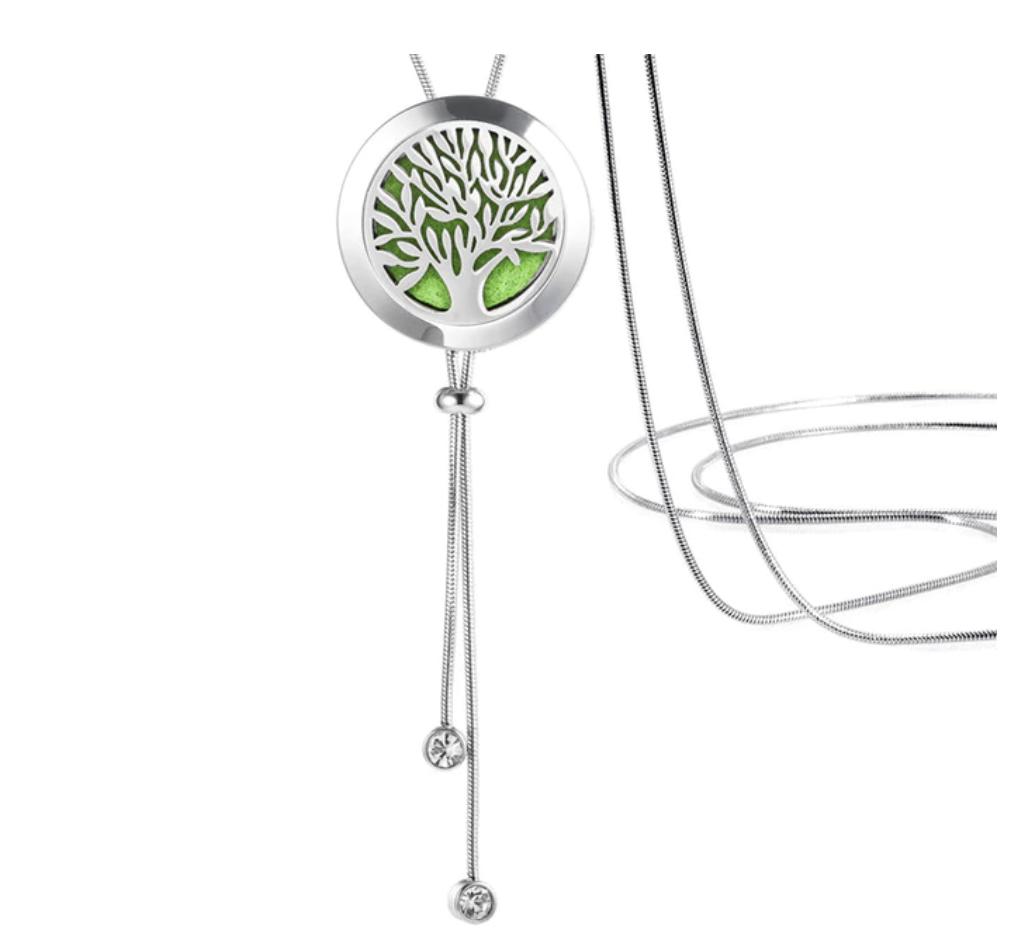 Aroma medaillon 003 - Levensboom 25 mm.