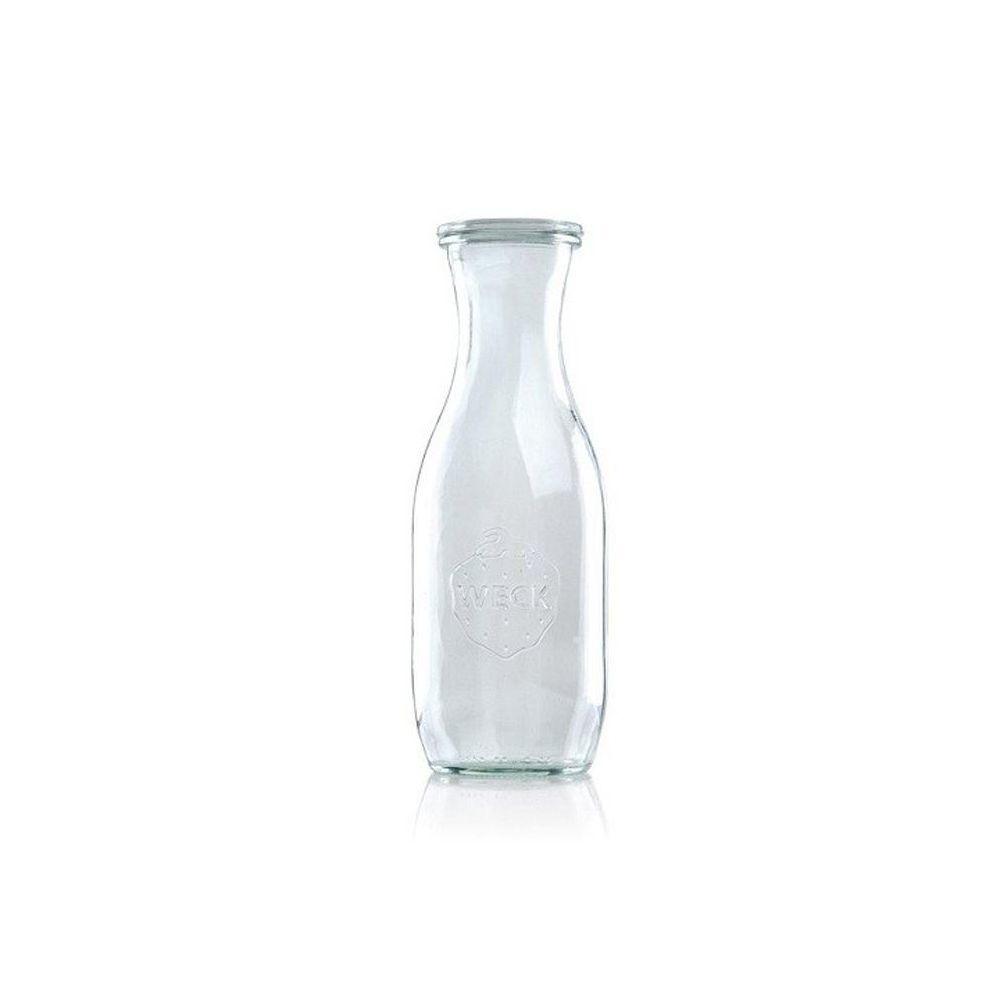 WECK Sapfles 1062 ml - Ø 60 mm - 6 stuks met glasdeksel
