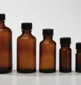 Bruinglas flesje 30 ml. (zonder dop)