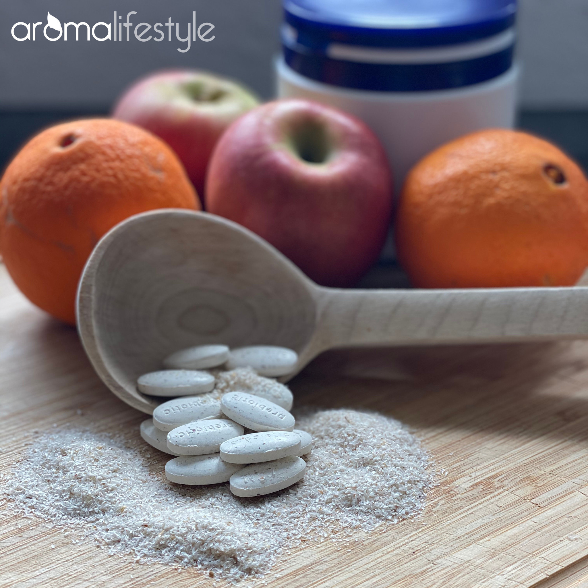 Prebiotische kauwtabletten