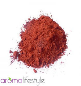natuurpigment rood