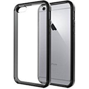 Forza Refurbished Forza iPhone 6/6S Hoes zwart + tempered glass