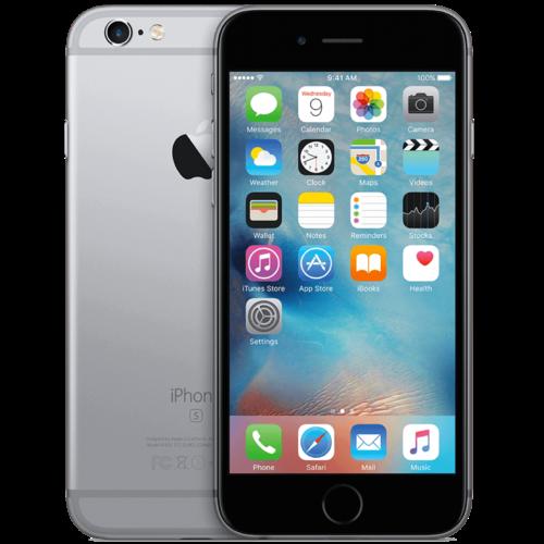 Apple iPhone 6S Zwart 128GB B-Grade