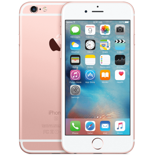 Apple iPhone 6S 64GB Rosegoud No Touch ID