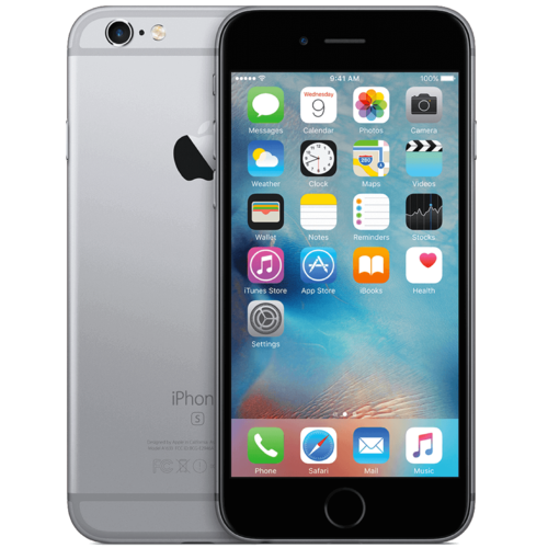 Apple iPhone 6S 64GB Zwart (No Touch ID)