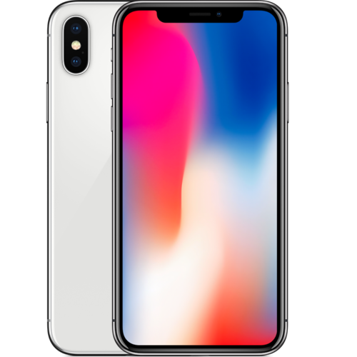 Apple iPhone X 64GB Silver A-Grade