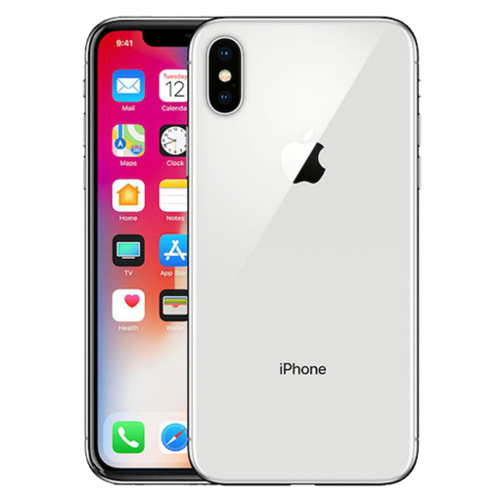 Apple iPhone X 64GB Silver (No Face ID)