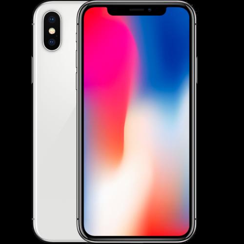 Apple iPhone X 64GB Silver C-Grade