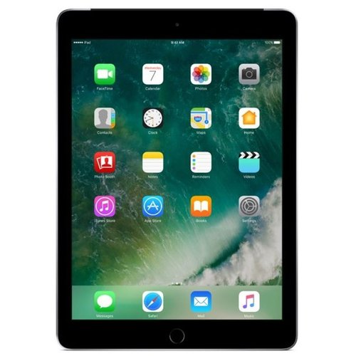 Apple iPad 2017 128GB Zwart Wifi only