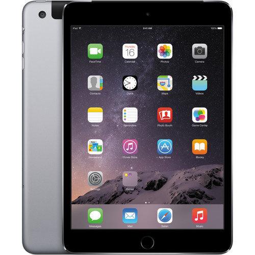 Apple iPad Mini 3 Zwart 64GB Wifi + 4G C-Grade
