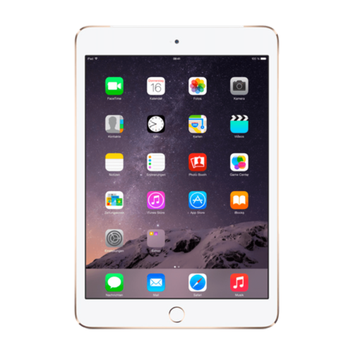 Apple iPad Mini 3 Goud 16GB Wifi only