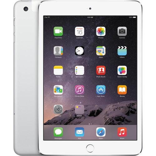 Apple iPad Mini 3 Wit 64GB Wifi only B-Grade