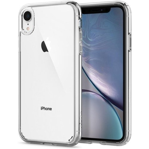 Refurbished Forza Refurbished Forza iPhone XR Transparante hoes + tempered glass