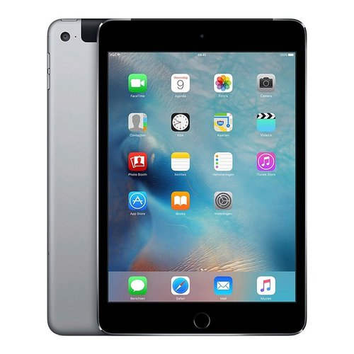 Apple Refurbished Apple iPad Mini 4 Zwart 128GB Wifi only A-Grade