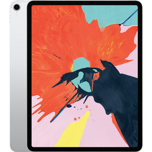 Apple iPad Pro 12.9 Inch (2018 Versie) 256GB Silver Wifi only