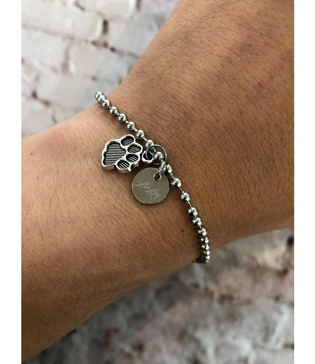 LOLEY jewelry Armbandje pootje