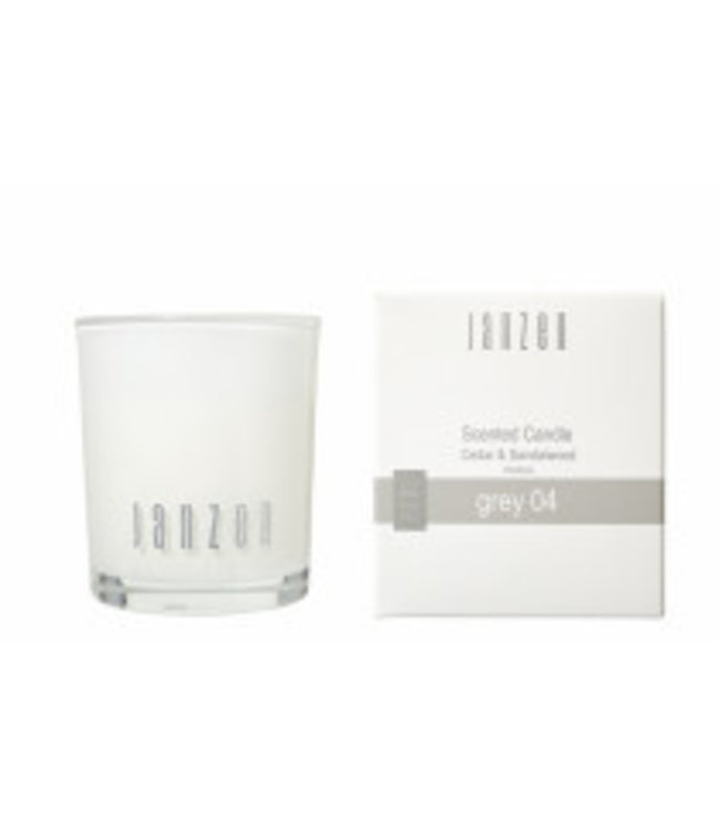 JANZEN Janzen Home Scented Candle Grey 04