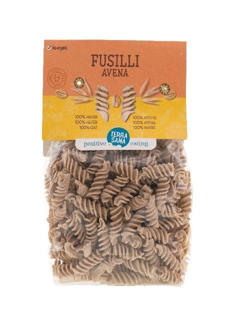 Nieuw: Fusilli Avena, 100% biologische haver. Verder niets.