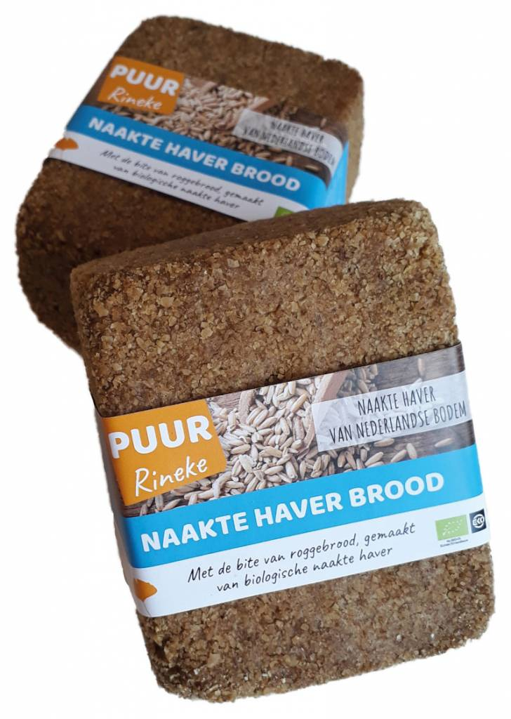 Naakte haverbrood recensie Rineke Dijkinga, tarwevrij brood, glutenvrij brood.