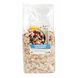 PUUR Rineke Havermuesli ontbijtmix biologisch, glutenvrij