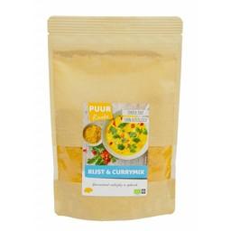 PUUR Rineke Heerlijke biologische rijst- & currymix, grootverpakking