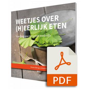 Weetjes over (h)eerlijk eten - Rineke Dijkinga, herziene versie (E-Book)
