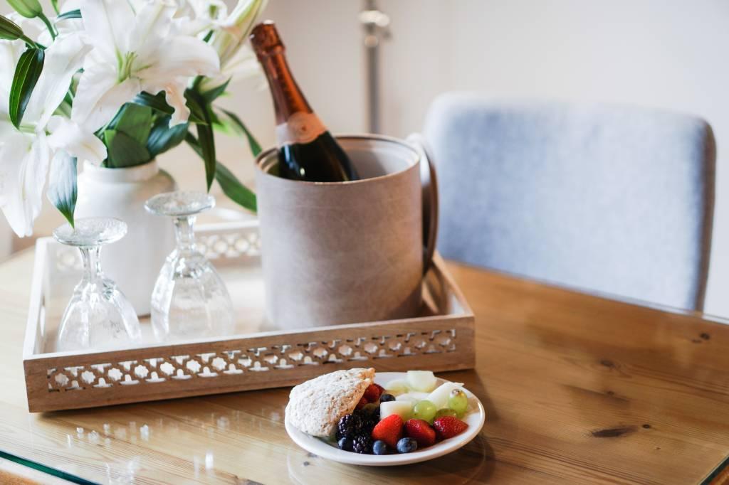 Moederdag ontbijt; maak het af met een champagne