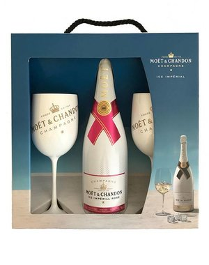 Moët & Chandon Ice Impérial Rosé Perfect Serve Pack 75cl