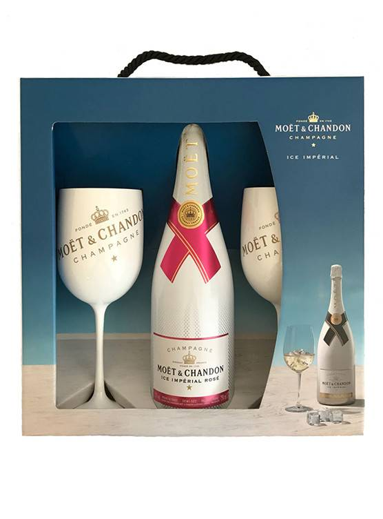 Moët & Chandon Moët & Chandon Ice Rosé Perfect Serve Pack 75cl