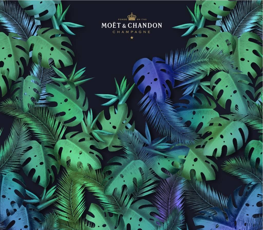 Moët & Chandon Moët & Chandon Nectar Urban Jungle Sleeve 75CL