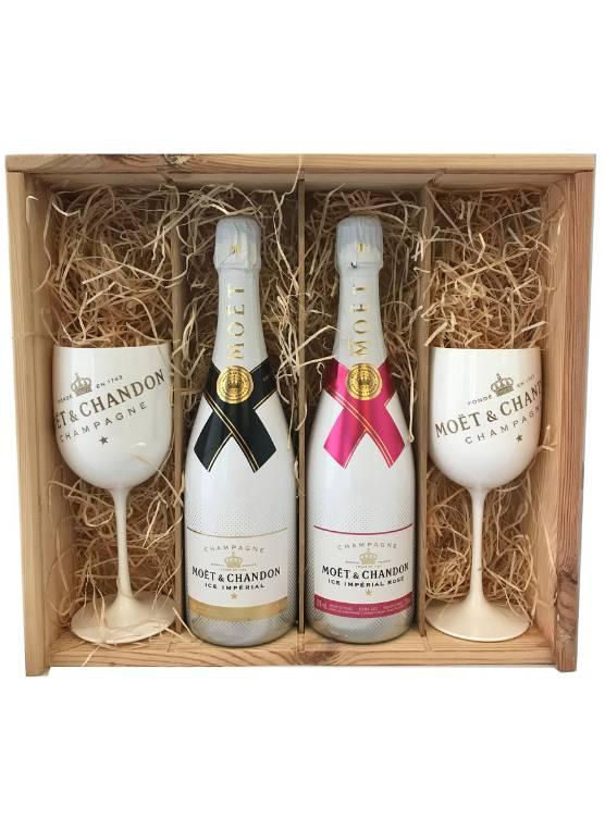 Moët & Chandon Moët & Chandon Ice Champagne Gift + 2  glazen
