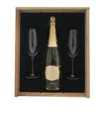 Luc Belaire Luc Belaire 75CL  gold  Geschenkkist + 2 flutes