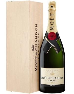 Moët & Chandon Impérial Brut Magnum in houten kist 1,5 Liter