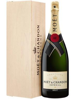 Moët & Chandon Impérial Magnum in houten kist 1,5 Liter
