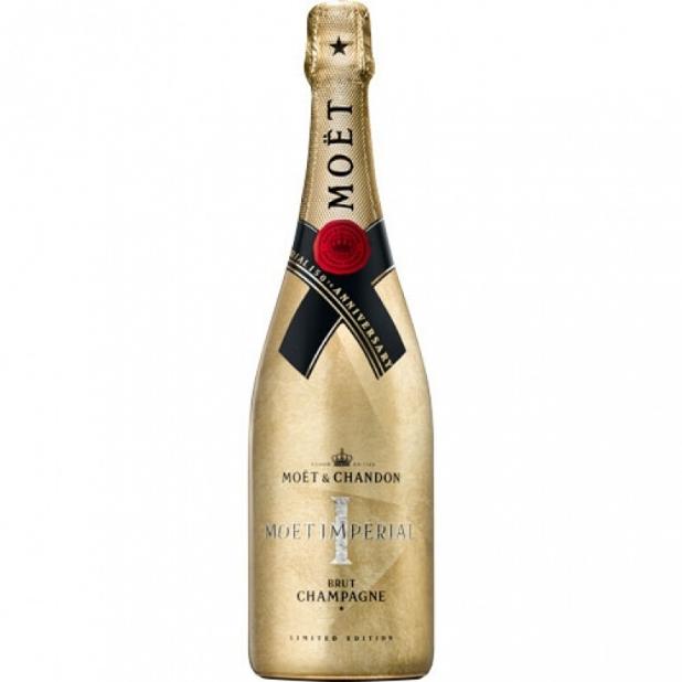 Moët & Chandon Moët & Chandon Brut 75cl Golden Impérial 150th Anniversary - EOY 2019 Limited Edition