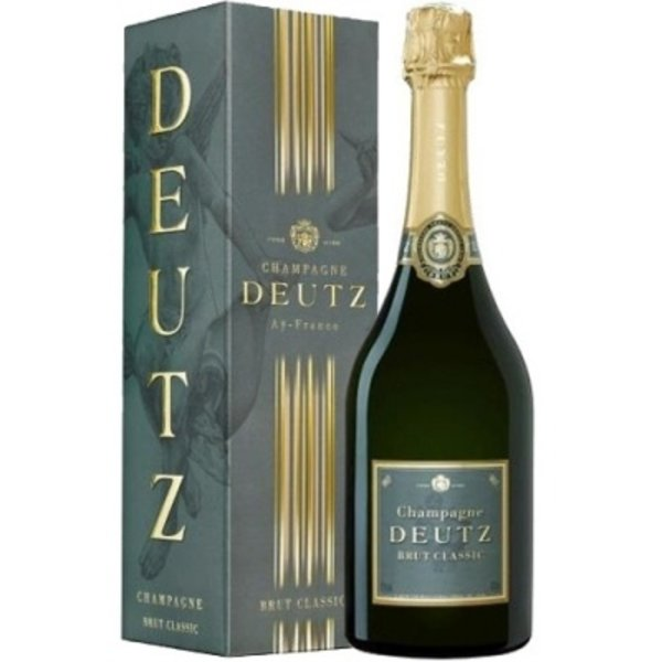 Deutz Brut Classic 75CL in Giftbox