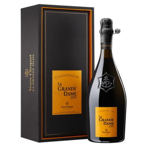 Veuve Clicquot  La Grande Dame 2008 in giftbox 75CL