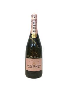 Moët & Chandon Impérial Rosé 75CL met gouden opschrift