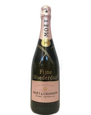 Moët & Chandon Rosé 75CL met gouden opschrift