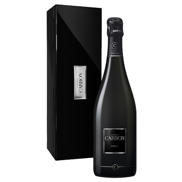 Carbon Brut 75 CL in luxe giftbox